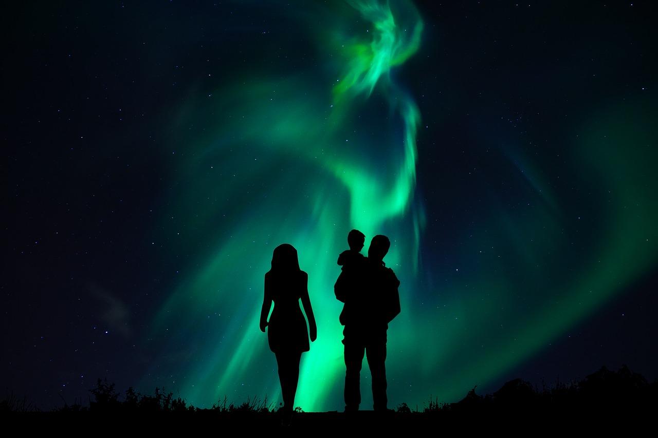 Aurora Boreale & Babbo Natale