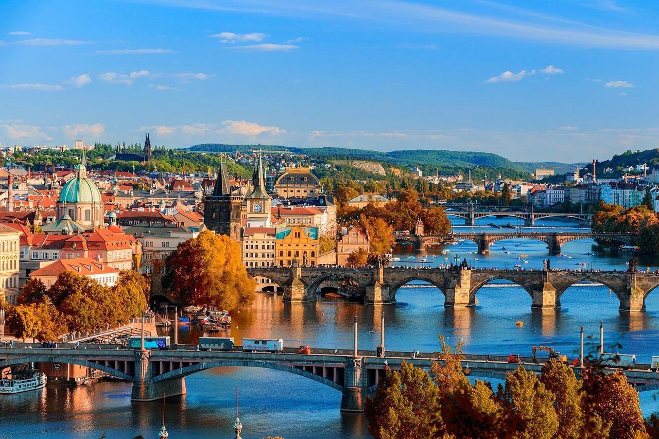Capitali Imperiali d'Europa 2020 Da Praga
